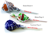Custom Name Brand Lollipops