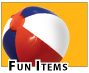 Fun Promotional Items for parties and Client leisure.