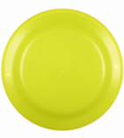 9 inch flyer neon yellow