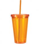 Acrylic Tumblers Orange