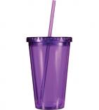 Acrylic Tumblers Purple
