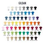 Gildan Shirt Colors