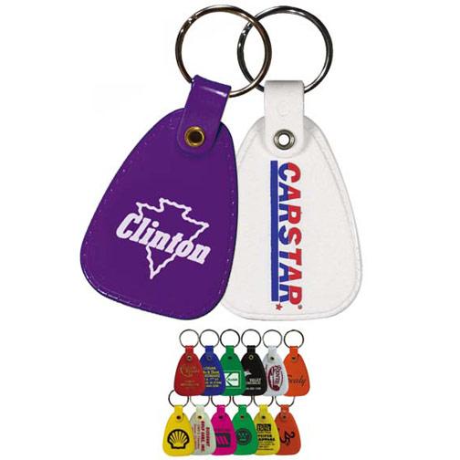 Plastic Saddle Key Tag