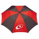 Umbrella Black and Red