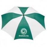 Umbrella Green and White