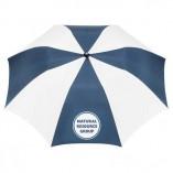 Umbrella Navy and White