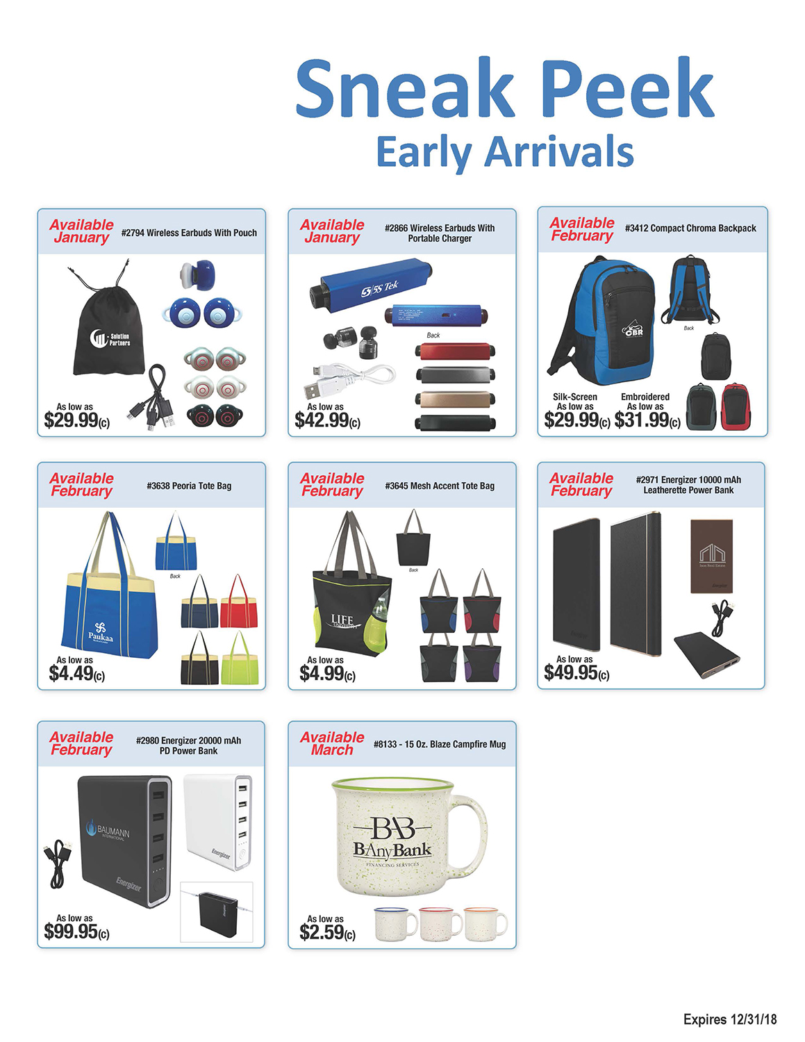 2018 New Arrivals Page 2